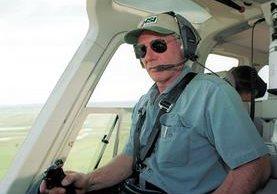 Harrison Ford es un experimentado piloto y acostumbra a realizar vuelos en aviones de su propiedad. (Foto Prensa Libre: AFP)