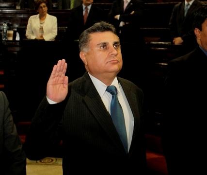 Manuel Duarte fue electo el pasado 2 de julio en sesión extraordinaria. (Foto Prensa Libre: Hemeroteca PL)