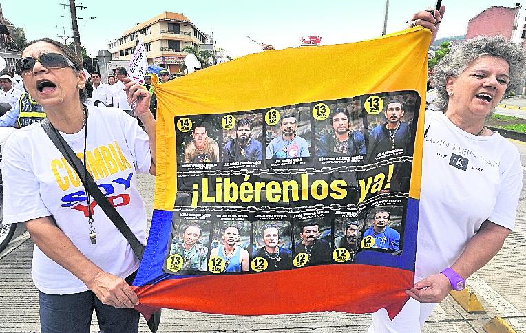 Gobierno colombiano y las FARC acordaron buscar a desaparecidos de la guerra. (Foto Prensa Libre: Hemeroteca PL)