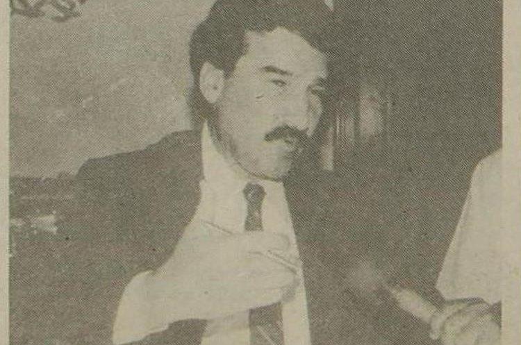 Ramiro de Leon Carpio, presidente de Guatemala en 1994. (Foto: Hemeroteca PL)