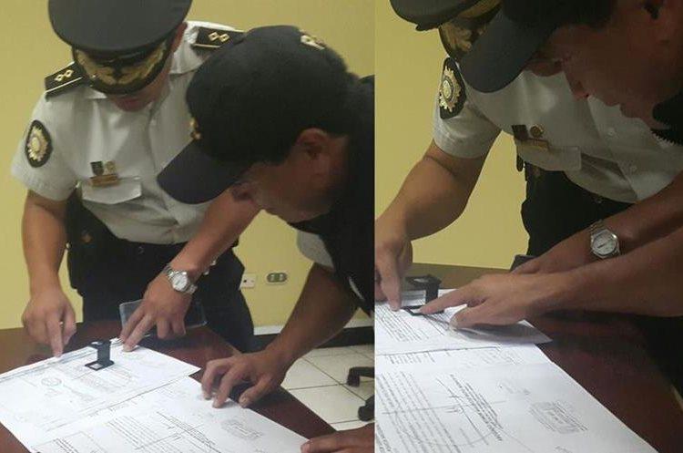 El cotejo de la orden falsa es analizada por la Subdirección General de Investigación Criminal de la PNC.