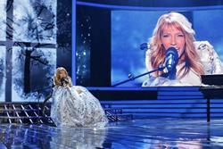 Julia se subirá al escenario de Eurovisión este 11 de mayo en Kiev, Ucrania, durante la segunda semifinal del certamen. (Foto Prensa Libre: Tomada de frivolette.com)