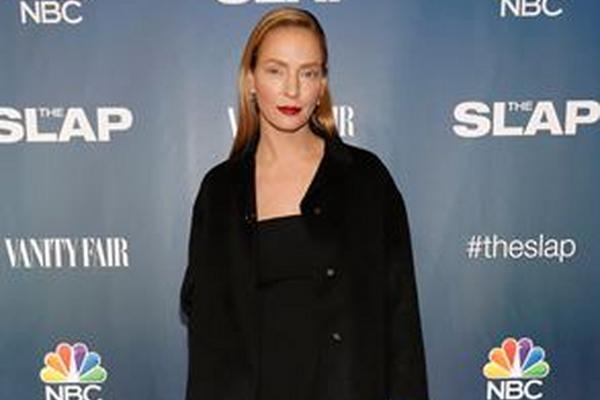 La protagonista de Kill Bill lució muy distinta hace unos días debido, según ella, al maquillaje, pero la causa parecen ser las cirugías. (Foto Prensa Libre: AFP)