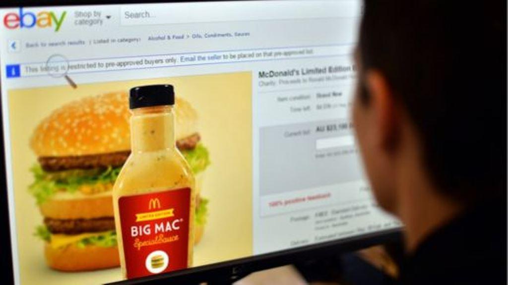 La salsa que acompaña al Big Mac también tuvo mucho éxito. GETTY IMAGES