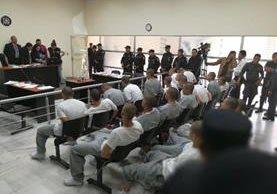 Los internos, mayores de edad, están pendientes de ser escuchados por un juez de turno (Prensa Libre: Esbin García)