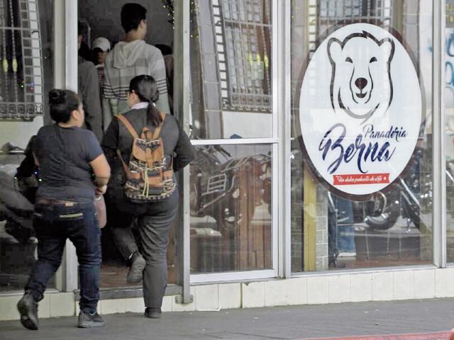 La panadería Berna recibió sanción de cierre temporal por no emitir factura. (Foto Prensa Libre: Hemeroteca PL)