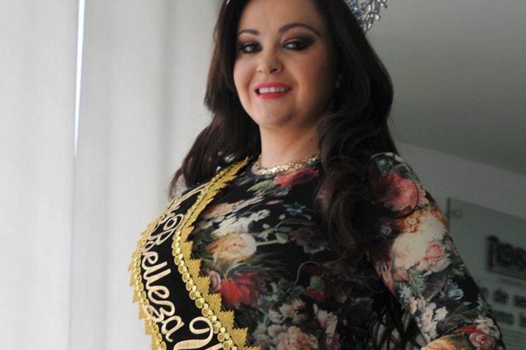 Saraí Rodríguez se prepara para cumplir con la agenda como reina internacional.