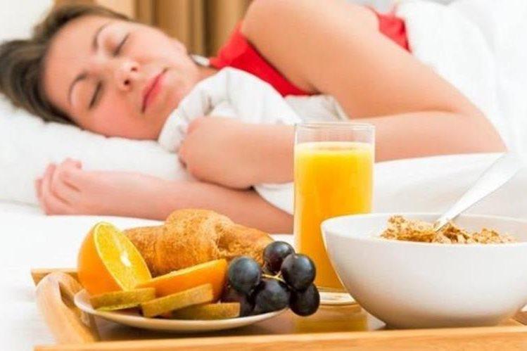 ¿Dormir para perder peso? Suena demasiado bien... (THINKSTOCK)