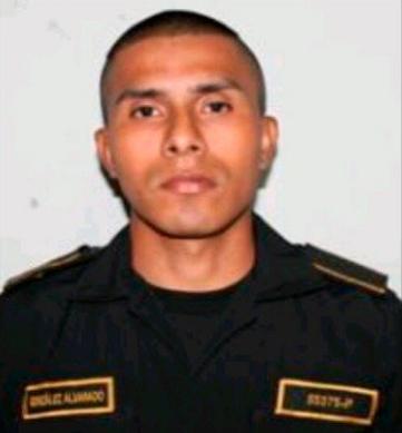 Mario Antonio González Alvarado, agente de la PNC presuntamente asesinado por mareros.
