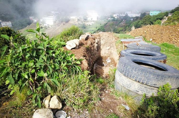Desde estos lugares en Tajumulco se ha disparado para Ixchiguan en San Marcos.