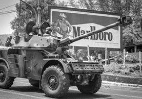 El Salvador pasó en guerra toda la década de 1980. Pero el 16 de enero de 1992 se firmó la paz. GIUSEPPE DEZZA