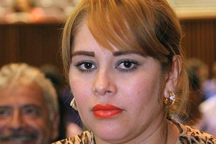 Lucero Guadalupe Sánchez, política vinculada al Chapo Guzmán. (Foto Prensa Libre: EFE).