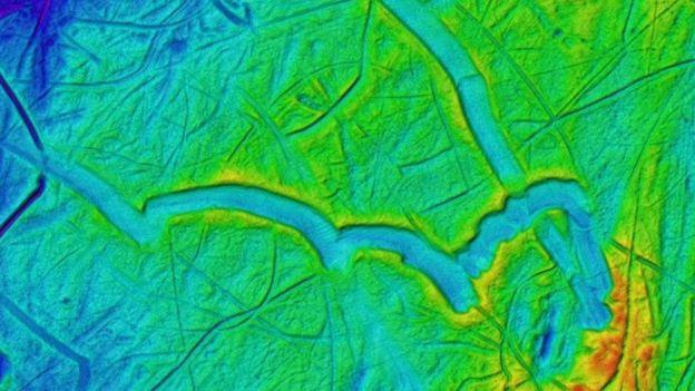 La quilla de los témpanos marca profundos canales en el lecho marino. ATLAS OF SUBMARINE GLACIAL LANDFORMS