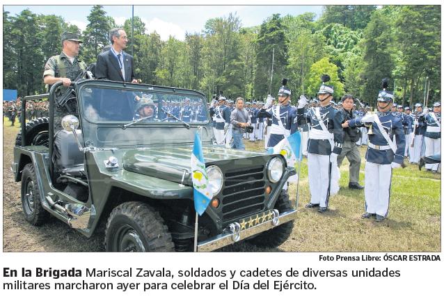 Día del Ejército en la Brigada Militar Mariscal Zavala en 2009. (Foto: Hemeroteca PL)