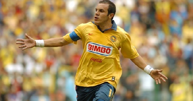Cuauhtémoc Blanco es uno de los referentes del futbol mexicano. (Foto Prensa Libre: Hemeroteca)