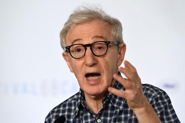 El director estadounidense Woody Allen durante una conferencia en la 68 edición del Festival de Cannes. (Foto Prensa Libre: AFP)