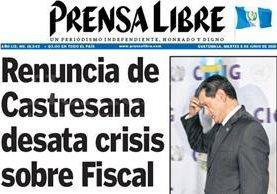 Titular de Prensa Libre del 8 de junio de 2010. (Foto: Hemeroteca PL)