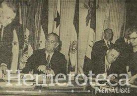 Los diferentes acuerdos y tratados que Estados Unidos ha firmado con Guatemala.