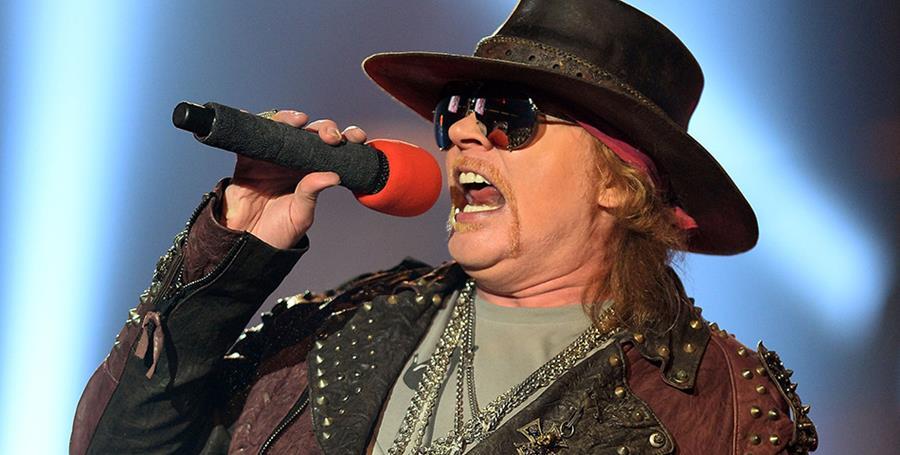 Axl Rose considera todo un reto ser vocalista de AC/DC. (Foto Prensa Libre: Hemeroteca PL)