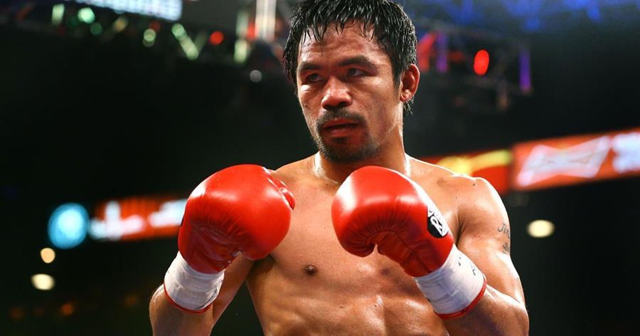El boxeador filipino Manny Pacquiao vuelve al cuadrilatero para pelear contra el australiano Jeff Horn el 23 de abril. (Foto Prensa Libre: Hemeroteca)