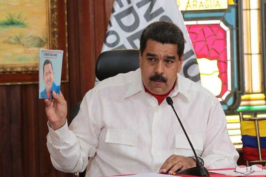 """El presidente venezolano, NIcolás Maduro, aseguró que no permitirá una """"agresión"""" de Estados Unidos. (Foto Prensa Libre: EFE)"""