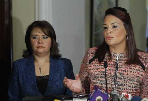 La vicepresidenta Baldetti inaugura el Congreso Centroamericano enfocado en la trata de personas (Foto Prensa Libre: Álvaro interiano)