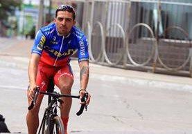 El costarricense Román Villalobos, campeón de la Vuelta a Guatemala del 2015, ahora participará con Canel´s Turbo de México. (Foto Prensa Libre: Carlos Vicente)