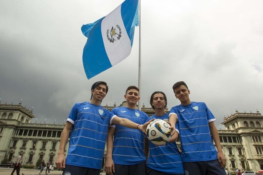 Los jugadores se sienten ansiosos por representar a Guatemala en el mundial de futsal. (Foto Prensa Libre: Norvin Mendoza)