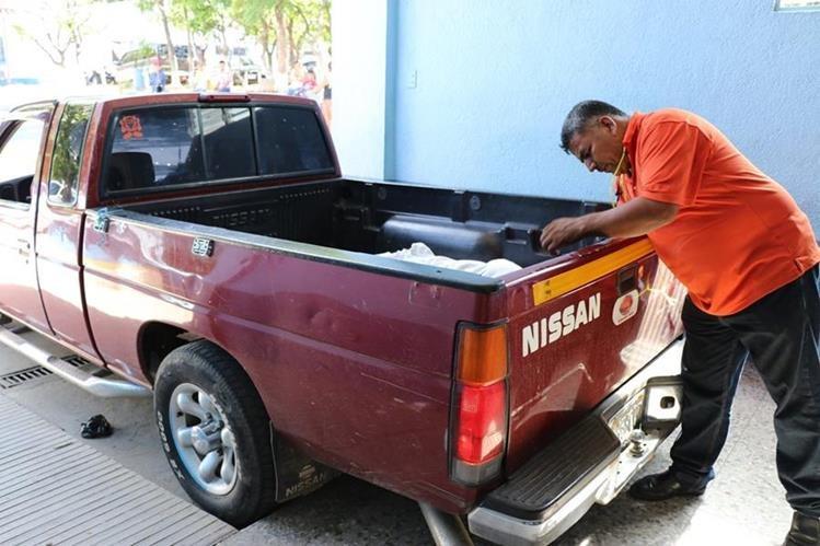La bebé fue llevada al centro asistencial, donde murió en el área de cuidados intensivos. (Foto Prensa Libre: Mario Morales)