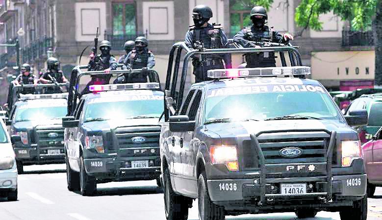 La seguridad se ha reforzado en estados más violentos de México. (Foto: Hemeroteca PL)