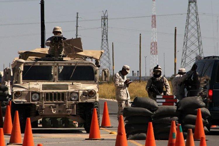 Operaciones militares en el marco de la lucha antidrogas en México. (Foto Prensa Libre: AFP)