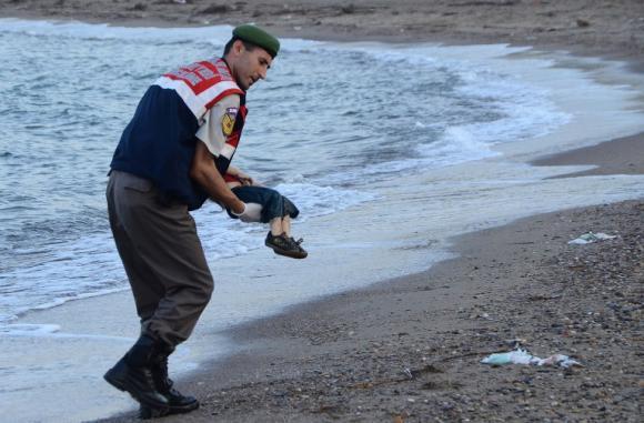 El caso del niño sirio Aylan Kurdi sacudió al mundo. (Foto: Hemeroteca PL)