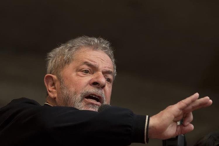Luiz Inacio Lula da Silva, expresidente de Brasil. (Foto Prensa Libre: AP).
