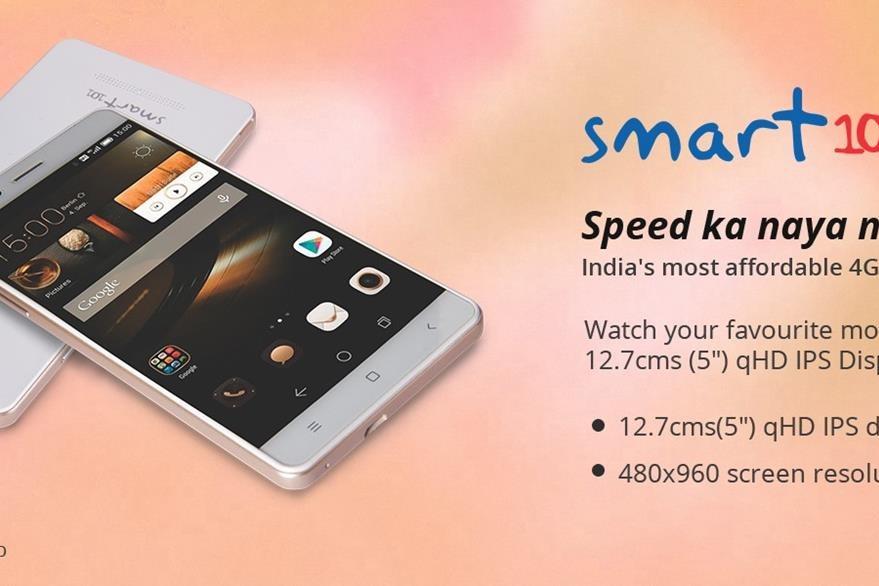 Ringing Bells lanzó recientemente el smartphone 4G Smart 101, que cuesta US$44 (Foto: Hemeroteca PL).