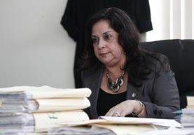 La jueza Reinoso es sindicada de tres delitos. (Foto Prensa Libre: Hemeroteca PL)