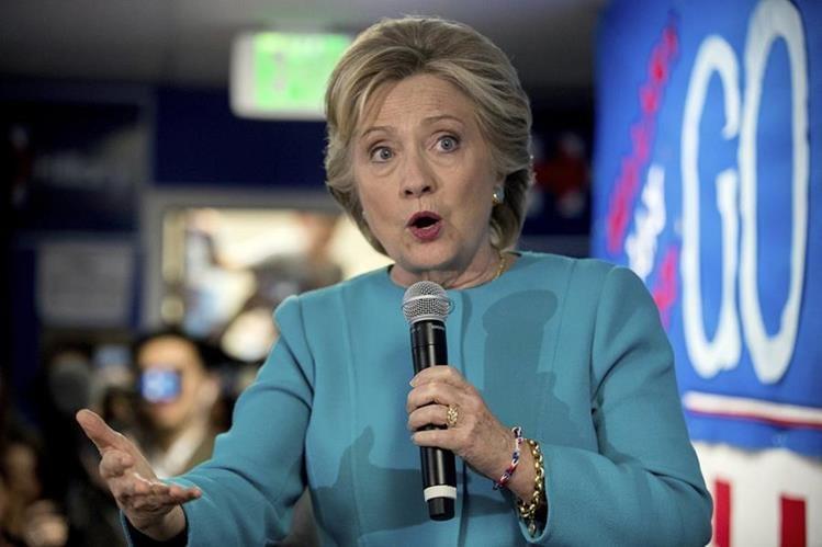Correos filtrados por WikiLeaks revelan que Hillary Clinton evitó criticar a Wall Street. (Foto Prensa Libre: AP)