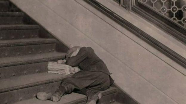 Los menores en Estados Unidos trabajaban largas jornadas. (Foto: Lewis Hines / Cortesía del Archivo Nacional de Estados Unidos)