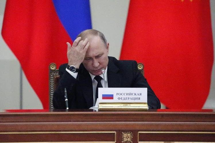 Vladimir Putin, presidente de Rusia, niega intervención de su país en las elecciones de EE. UU. (Foto Prensa Libre: EFE).