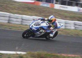 Marcos Reichert buscará reencontrarse con el triunfo en la cuarta fecha del Campeonato Nacional de Motovelocidad. (Foto Prensa Libre: Hemeroteca PL)