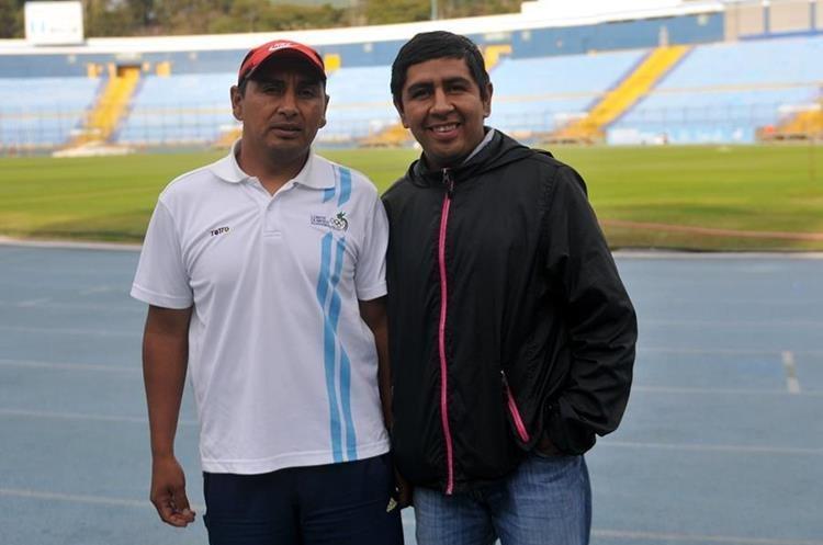Mynor Ortiz, entrenador de José, buscará consolidar la carrera del atleta nacional. (Foto Prensa Libre: Hemeroteca)