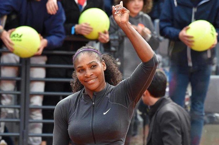 Serena William se clasificó a una nueva final en su carrera. (Foto Prensa Libre: EFE)
