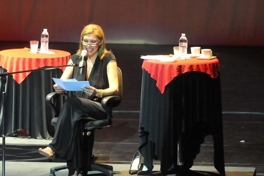 Con humor Cynthia Klitbo habló de los orgasmos femeninos en La inundación.