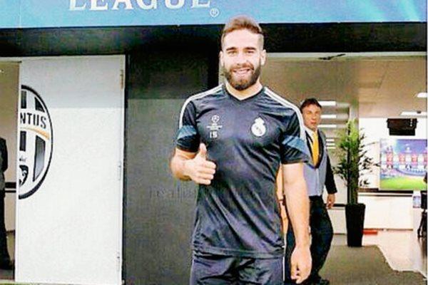 Dani Carvajal espera aportar en el juego ante la Juventus. (Foto Prensa Libre Instagram Dani Carvajal)