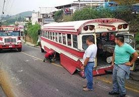Mal estado de buses preocupa a ciudadanos