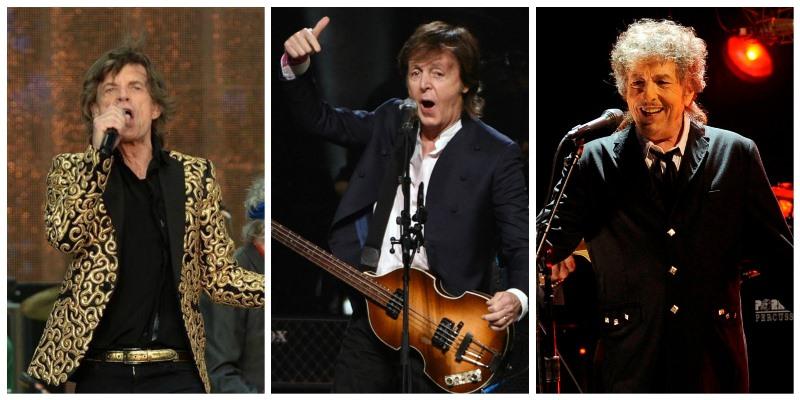El concierto reunirá a los grandes exponentes del rock, como The Rolling Stones, Paul McCartney y Bob Dylan. (Foto Prensa Libre: Hemeroteca PL)