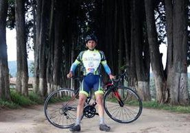 Fermín Méndez se coronó campeón en la Vuelta a Guatemala del 2000 (Foto Prensa Libre: Carlos Ventura)