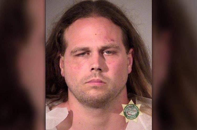 Imagen del sospechosos difundida por la policía de Portland. (Foto Prensa Libre)