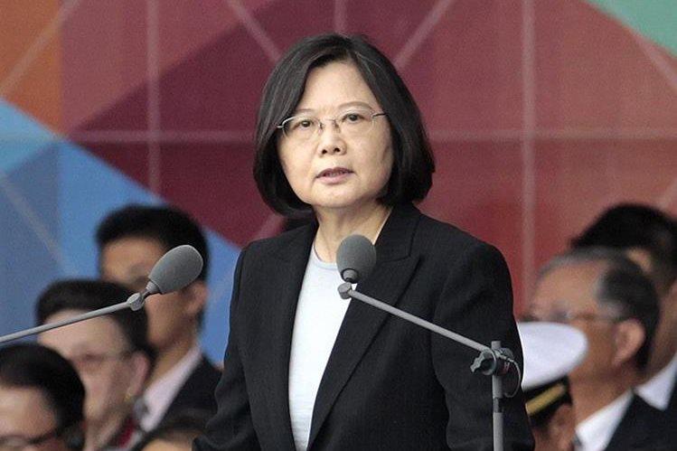 Tsai Ing-wen, presidenta de Taiwán. (Foto Prensa Libre: AP).
