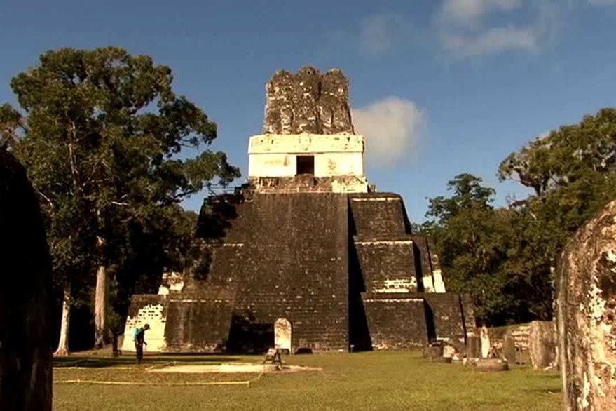 Vista de frente del Templo II. (Foto Prensa Libre: Hemeroteca PL)