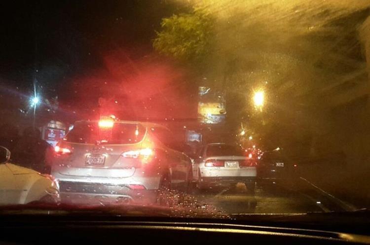 Avenida Mariscal, zona 11. (Foto Prensa Libre:  @cecijmnz5).